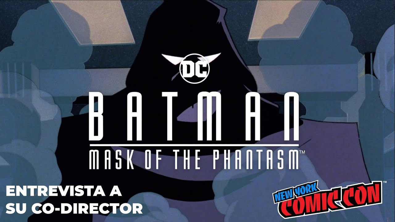 Batman: Mask of the Phantasm – Entrevista a Eric Radomski (co-director) – NYCC2018