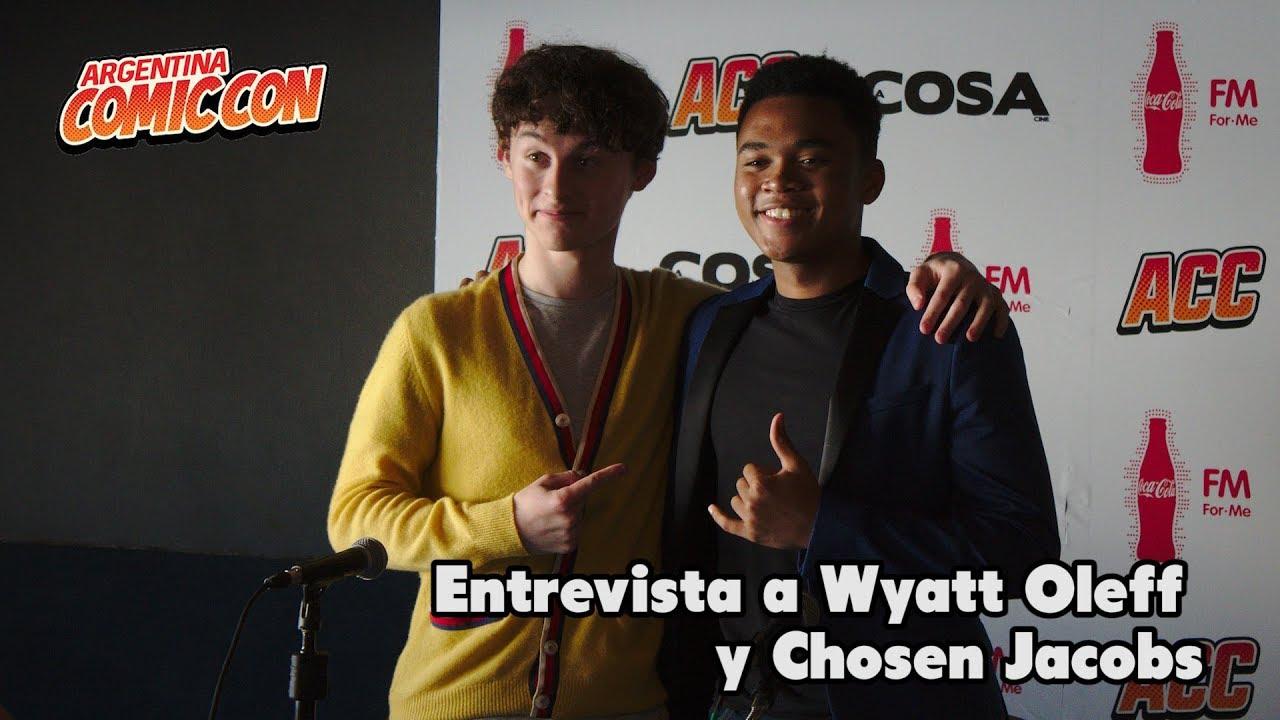 Entrevista a Wyatt Oleff  y Chosen Jacobs – ACC 11