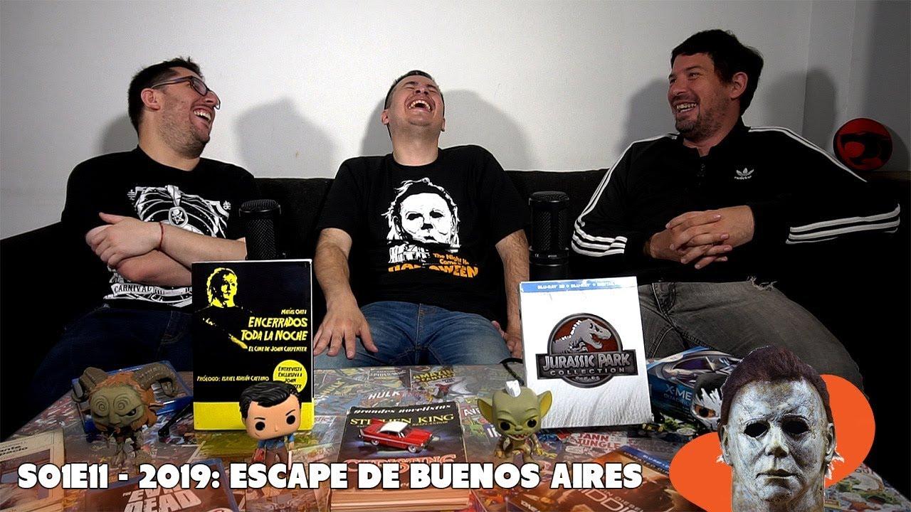 Modelo 82 – S01E11 – 2019: Escape de Buenos Aires (John Carpenter)