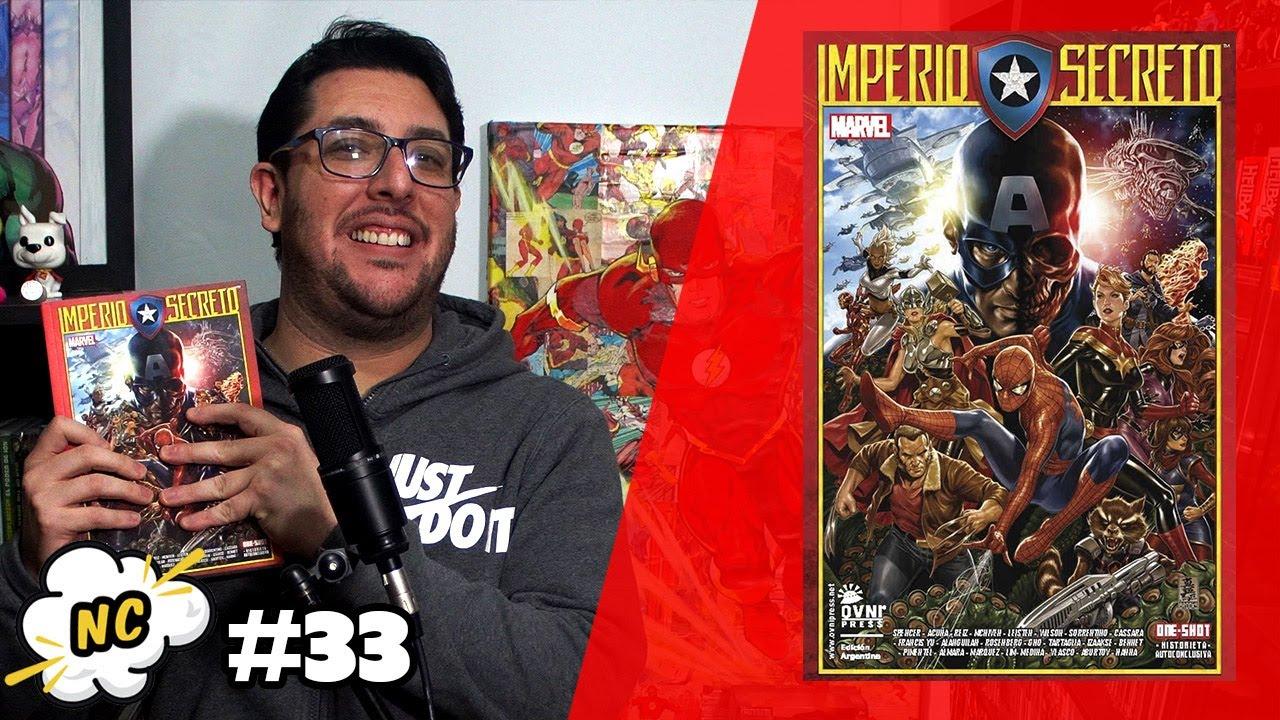 (No tan) Novedades comiqueras #033 – El Capitán América es de Hydra