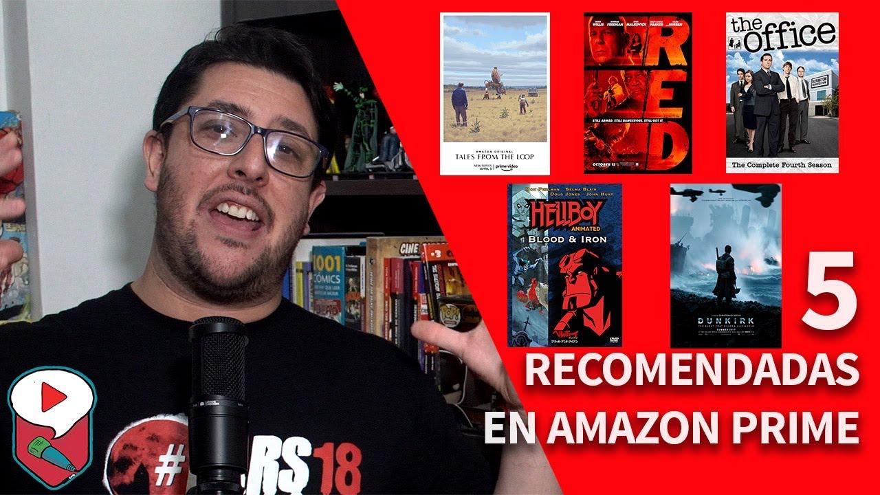 Video Reseña: 5 recomendaciones de Amazon Prime