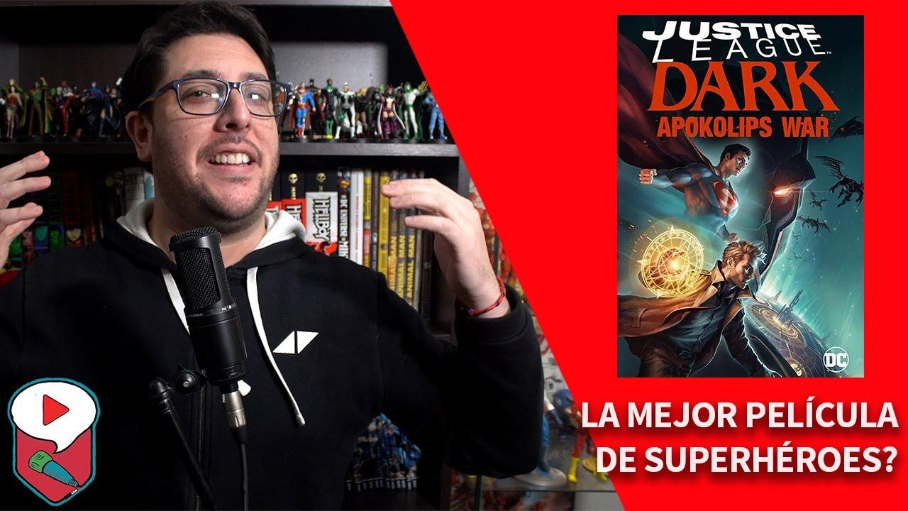 Justice League Dark: Apokolips War – La película definitiva de superhéroes?