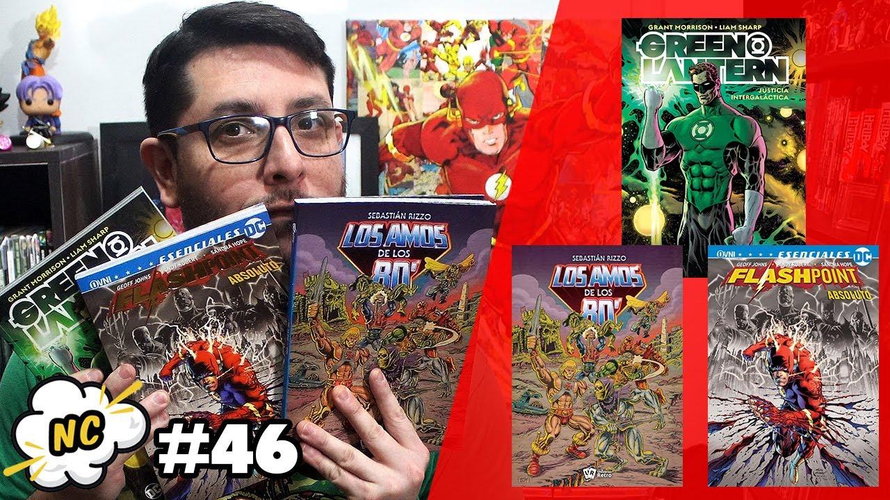 Novedades comiqueras #046 – Policía intergaláctica, el nuevo mundo de Flash y He-Man