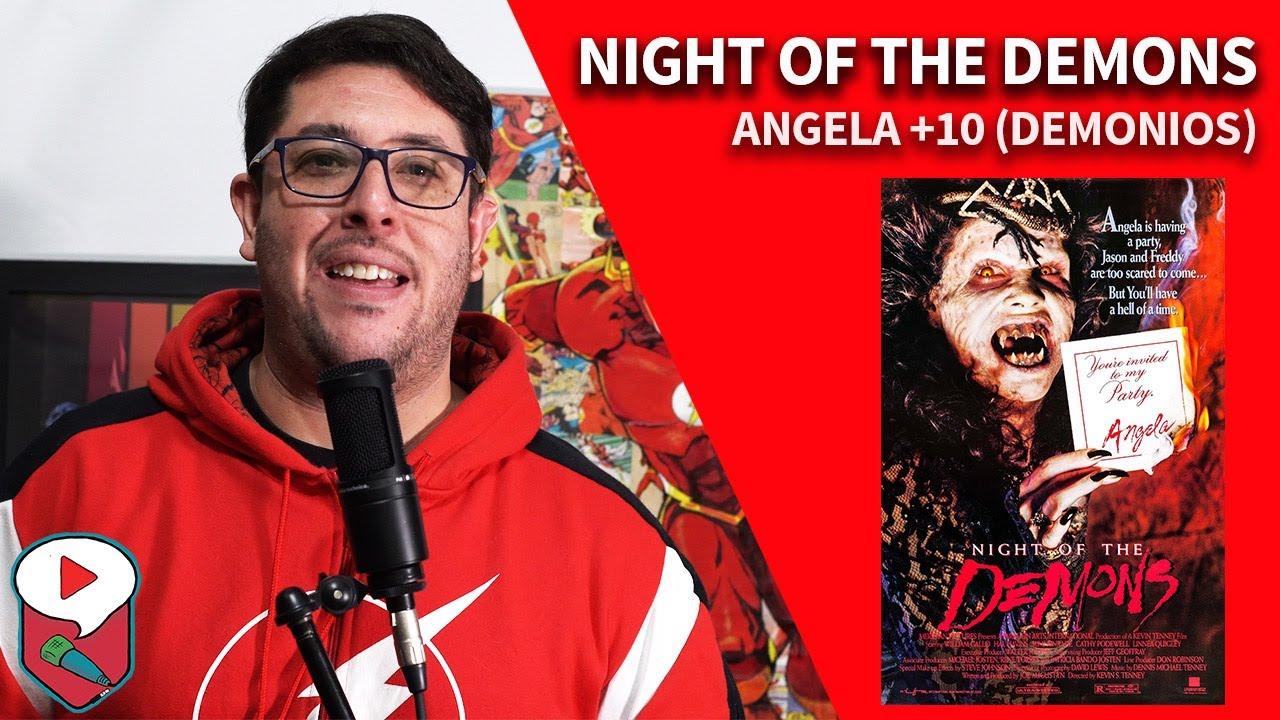 Night of the Demons: SANGRE, SEXO y DEMONIOS en los 90s