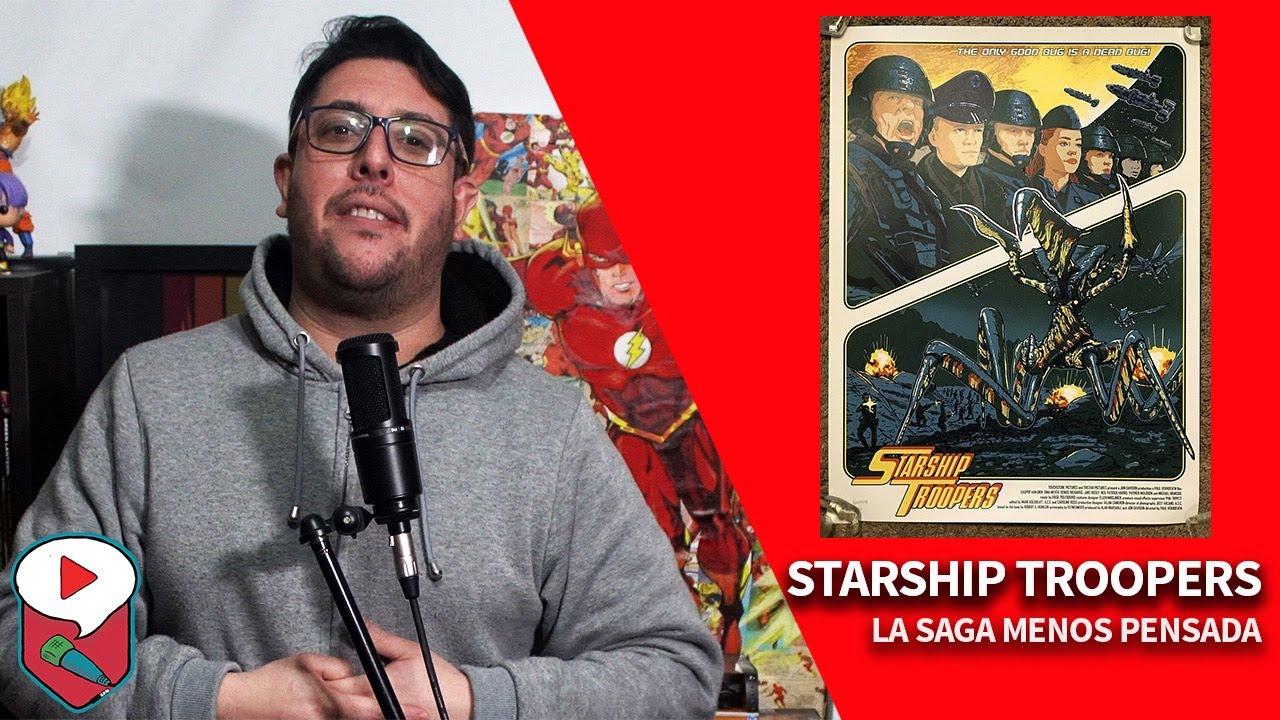 STARSHIP TROOPERS: aliens, fascismo, 1 LIBRO, 6 PELÍCULAS y 1 SERIE ANIMADA
